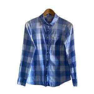 J Crew Factory The Perfect Shirt Gingham US XS
